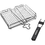 GrillPro Deluxe Broiler Grill Basket-DELUXE BROILER BASKET