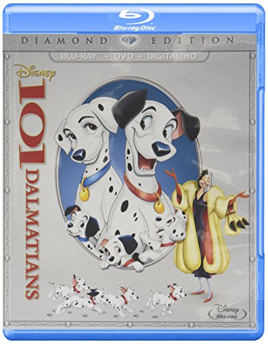 101 Dalmatians Diamond Edition (BD+DVD+Digital HD) [Blu-ray]
