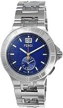 [フェンディ]FENDI 腕時計 Highspeed ブルー文字盤 クロノグラフ デイト F477130 メンズ 【並行輸入品】