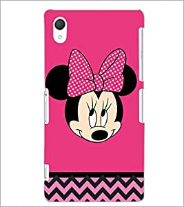 PrintDhaba Minnie Mouse D-2324 Back Case Cover for SONY XPERIA Z2 (Multi-Coloured)
