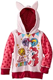 FREEZE Little Girls\' My Little Pony Lets Have A Party Toddler Hoodie, Pink Multi, 4T