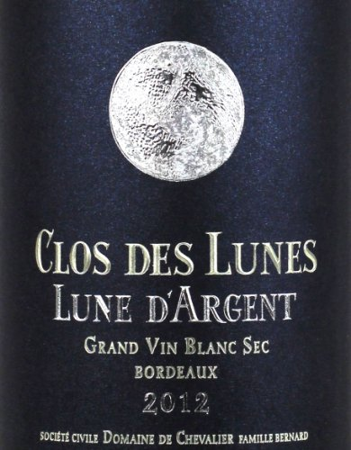 2012 Domaine De Chevalier Clos Des Lunes Bordeaux Blanc Lune D'Argent
