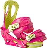 Burton Citizen Snowboard Bindings, Pink Pizzaz - Medium