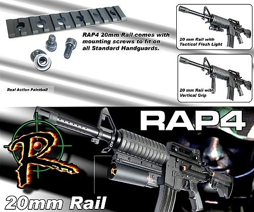 spyder-mr2-20mm-rail-with-mounting-screws-paintball-equipment