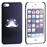 Bracevor Funny Mustache Design Back Case For IPhone 5 5s - Black