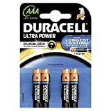 Duracell MX2400 Ultra Power AAA Size Batteries--Pack of 4