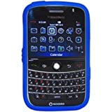 Amzer Silicone Skin Jelly Case for BlackBerry Bold 9000 - Blue