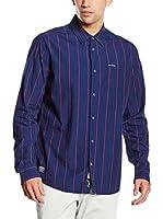 Pepe Jeans London Camisa Hombre Robert (Azul Oscuro)