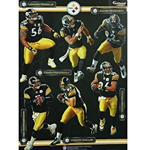 Amazon.com - Pittsburgh Steelers Team Fathead Wall Decal Set