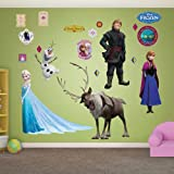 Fathead Wall Decal, Real Big, Disney Frozen Collection