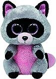 TY Beanie Boo Plush - Grey Raccoon Rocco