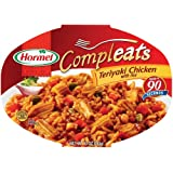 Hormel Compleats Teriyaki Chicken With Rice, 10-Ounce Microwavable Bowls (Pack of 6) ~ Hormel