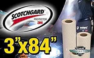 3M Clear Bra Scotchgard Paint Protection Bulk Film Roll 3-by-84-inches from 3M