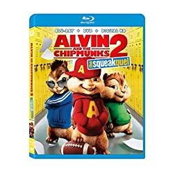 Alvin & The Chipmunks: Squeakquel [Blu-ray]