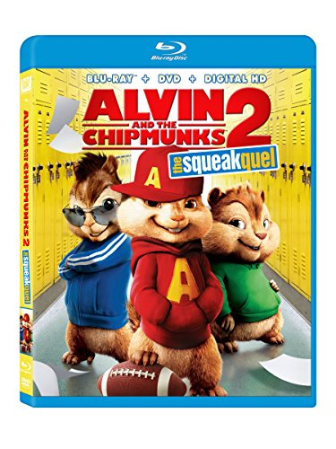 Blu-ray : Alvin and the Chipmunks: The Squeakquel (Pan & Scan, With Movie Cash)