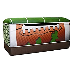 Komfy Kings Komfy Kings Kids Football 50 Yard Line Toy Box from Komfy Kings