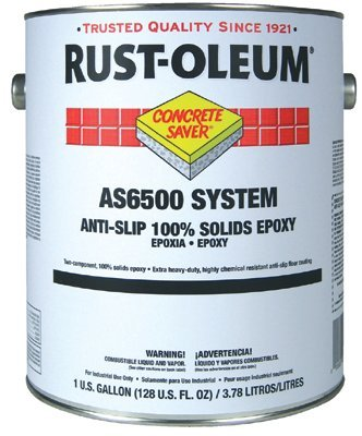 Rust oleum as6500 system for 100 epoxy floor coating
