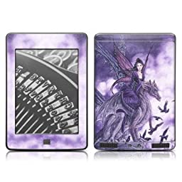 Dragon Sentinel Design Protective Decal Skin Sticker for Amazon Kindle Touch / Touch 3G (6 inch Ink display with Multi-touch)