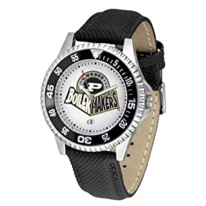 Purdue Boilermakers NCAA Competitor Mens Watch by SunTime