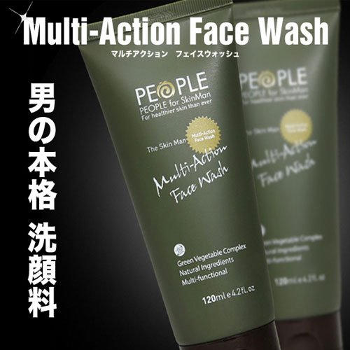 PEOPLE for SkinMan スキンマン マルチアクションフェイスウォッシュ 120ml
