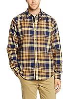Timberland Camisa Hombre Ls Parker Rvr Flannel (Ocre)