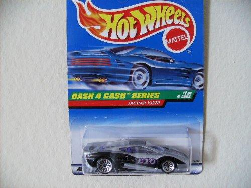 Hot Wheels Jaguar Xj220 #721 1998 Dash 4 Cash Series #1 with Wire Spokes - 1