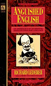 "Cover of ""Anguished English: An Anthology..."