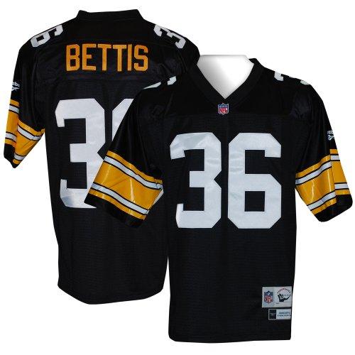 premium selection 23eb2 42e3c Reebok Pittsburgh Steelers Jerome Bettis Youth (8-20) Retro ...