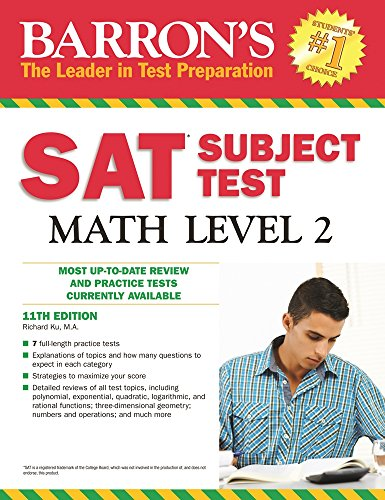 Barron's SAT Subject Test Math Level 2, 11th Edition