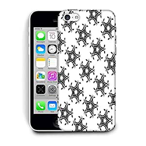Snoogg Leafy Pattern Printed Protective Phone Back Case Cover For Apple Iphone 6+ / 6 Plus