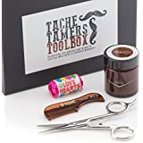 Moustache Care Gift Set - The Tache Tamers Toolbox