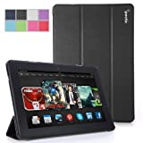 Poetic Slimline Case for New Kindle Fire HDX 8.9 (2013) 8.9inch Tablet Black (3 Year Manufacturer Warranty From Poetic)