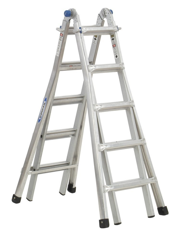 Werner MT-22 300-Pound Duty Rating Telescoping Multi-Ladder, 22-Foot ,$169.00