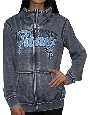 Womens TENNESSEE TITANS Athletic Zip-Up Jacket (Vintage Look)