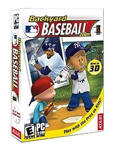 backyard baseball 2005 pc video games