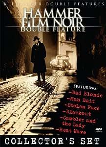 Hammer Film Noir Collector's Set (Bad Blonde / Blackout / The Gambler and the Lady / Heat Wave / Man Bait / Stolen Face)