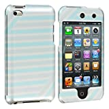 Strips Design Crystal Hard Skin Case Cover New for Apple Ipod Touch iTouch 4th Generation Gen 4g 4 8gb 32gb 64gb - Electromaster(TM) Brand
