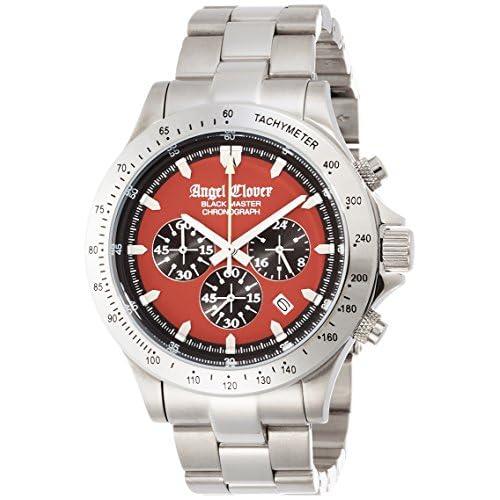 [エンジェルクローバー]Angel Clover 腕時計 ブラックマスターミリタリー レッド文字盤 クロノグラフ BM46SRE メンズ