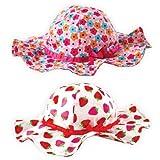 Luvable Friends Girls Sun Hat