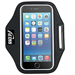 Aeoss A107 Sports Running Jogging Gym Armband Case Cover Holder Compitbale for all smart phones till 5.5 inch iphone 6 plus , Samsung Note 3 .