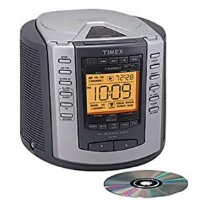 alarm clock with cd player and nature sounds applinces funda. Black Bedroom Furniture Sets. Home Design Ideas