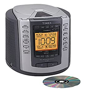 timex t601g nature sounds clock radio stereo cd player digital tuning am fm radio. Black Bedroom Furniture Sets. Home Design Ideas