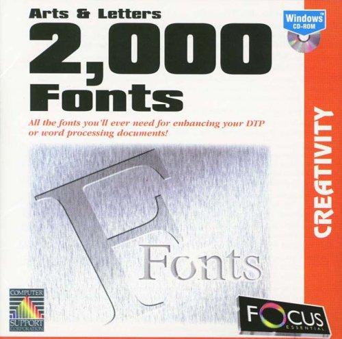 2,000 Fonts: Arts & Letters