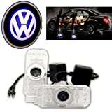 Besdata� 2 x Auto T�rbeleuchtung T�r Licht Door Shadow LED Logo 3D Laser Licht Projector Willkommen Licht Welcome Light (F�r VW Phaeton) - PL919