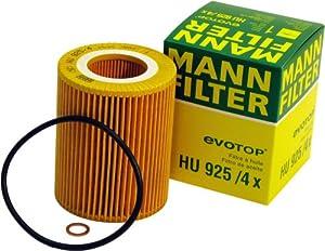 Mann-Filter HU 925/4 X Metal-Free Oil Filter by Mann-Filter