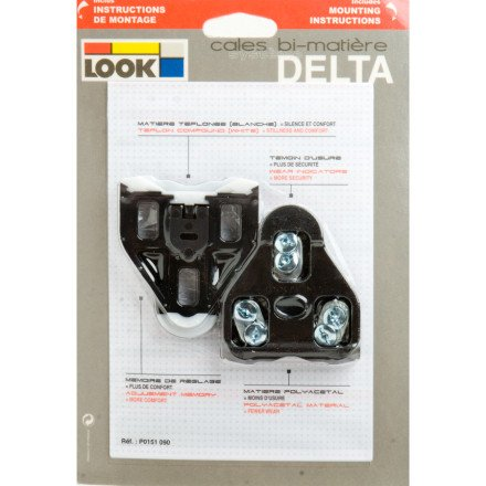 LOOK Cycle Delta Road Cleat Black 0 Degree, One Size (Look Delta Cycle Cleats compare prices)