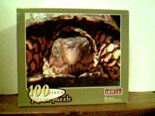 "Turtle - Hoyle 100 Piece Puzzle 10"" X 13"" (2005) - 1"