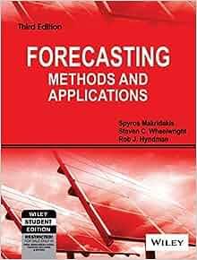 forecasting methods and applications by spyros makridakis pdf