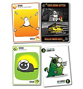 Exploding Kittens: NSFW Edition (Explicit Content) by Exploding Kittens LLC