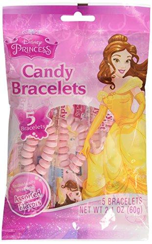 Stretchable Candy Bracelets With Princess Charm - Candy & Hard Candy - 1
